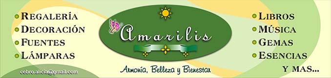 Amarilis - Armonía, Belleza y Bienestar - Portada Micrositio