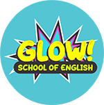Logo Glow English - Instituto de inglés en Martín Coronado